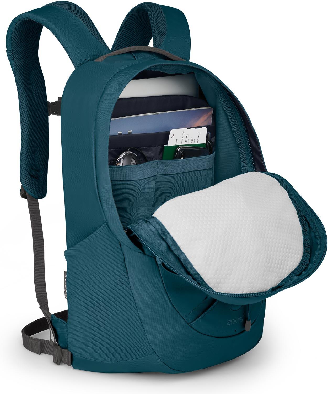 Osprey Nova Sac à dos loisirs Sac à dos ordinateur portable Sac Sac Ethel Blue Bleu